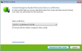 Dr.Web LiveDisk Crack